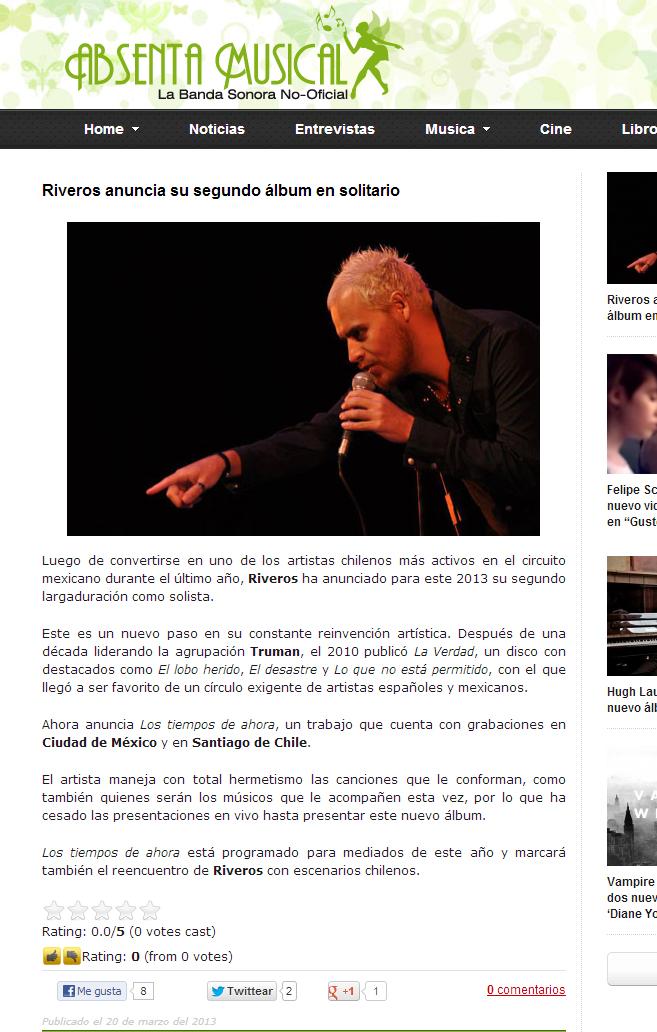 Riveros Absenta Musical
