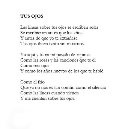 Riveros poema